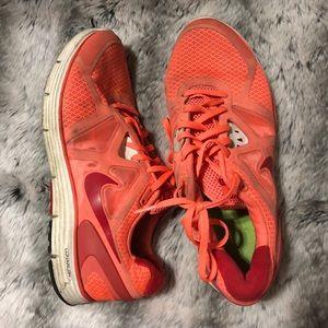 Coral Nikes